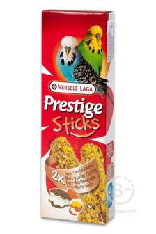 Корм для птиц палочки для волнистых попугаев Prestige с яйцом и ракушечником (60 гр)