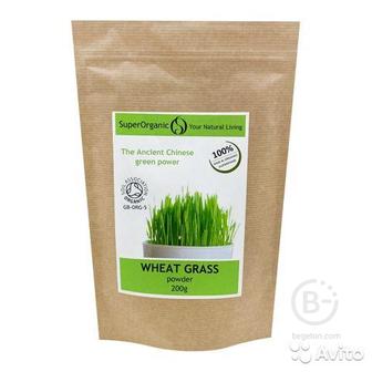 Витграсс порошок ростков пшеницы (wheat grass)