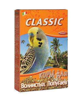 Корм для птиц корм для волнистых попугаев Classic (800 гр)