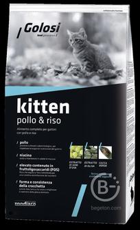 Корм для кошек корм для котят всех пород, курица и рис (1,5 кг)