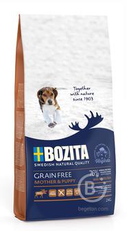 Корм для собак корм для щенков всех пород, беззерновой, с мясом лося (2 кг)