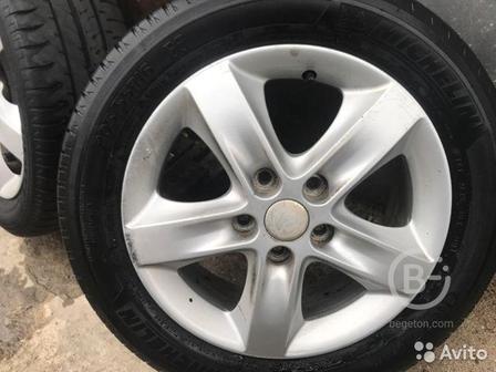 Колесо в сборе (шины+диск) Michelin 205/55/r16 200