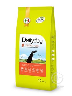 Корм для собак корм для пожилых собак средних и крупных пород, индейка и рис (3 кг)