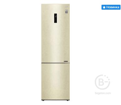 Холодильник LG GA-B509CEDZ бежевый