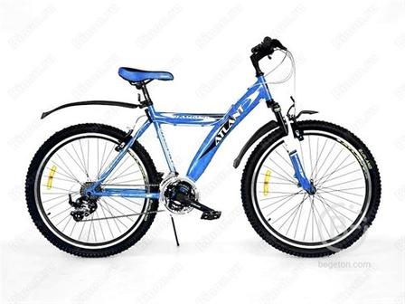 Велосипед ATLANT Diamond 268307А 26 (серый-синий)