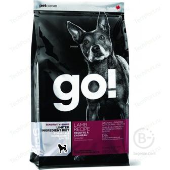 Корм для собак корм для щенков и взрослых собак всех пород, чувствительное пищеварение, ягненок (1.59 кг)