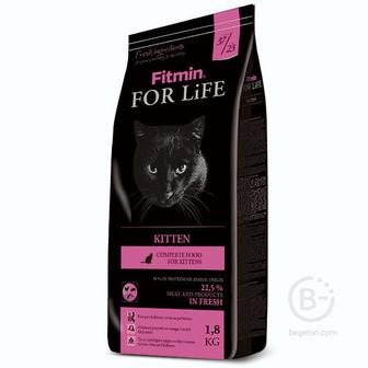 Корм для собак For Life корм для котят всех пород, курица (1,8 кг)