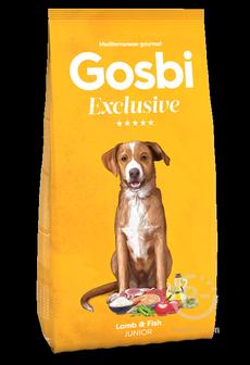 Корм для собак Exclusive корм для подрощенных щенков всех пород, ягненок и рыба (12 кг)