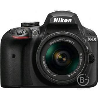 Nikon D3400 Kit 18-55mm VR Фотоаппарат зеpкальный