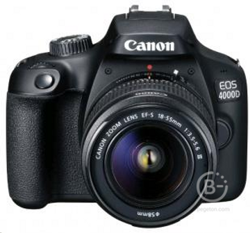 Canon EOS-4000D Kit 18-55mm DC III Фотоаппарат зеpкальный