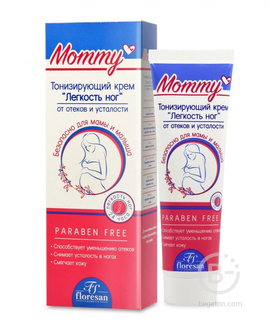 Флоресан Mommy Тонизирующий крем Лёгкость ног 100 мл