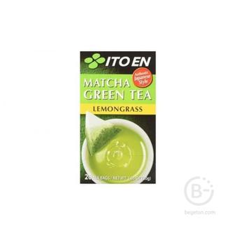 Зеленый чай с лемонграссом Matcha Green Tea Lemongrass ITOEN, 30 гр.