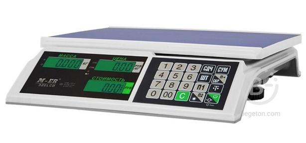 Весы торговые Mercury M-ER 326 AC-32.5 LCD