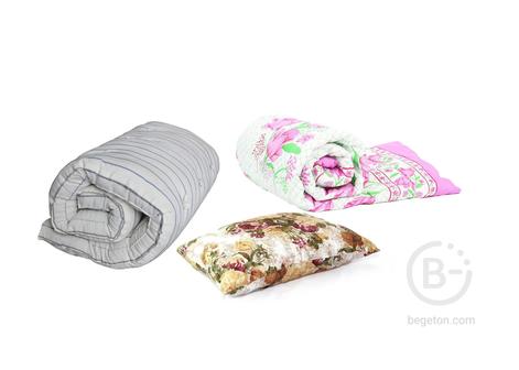 Спальный комплект для рабочих (матрас, подушка и одеяло) Стандарт (700)