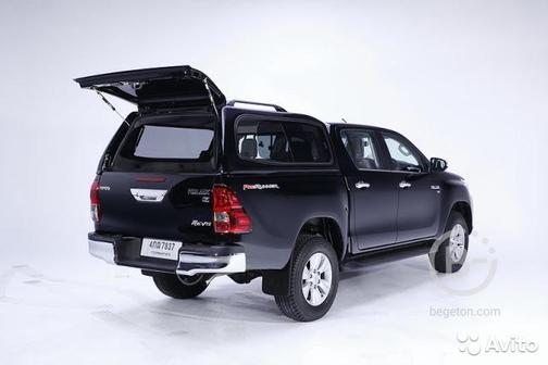 Кунг сталь Sammitr V2 Toyota Hilux Revo 2015 - н