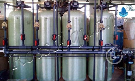 Установка умягчения воды и удаления железа «РосАква-Ф»