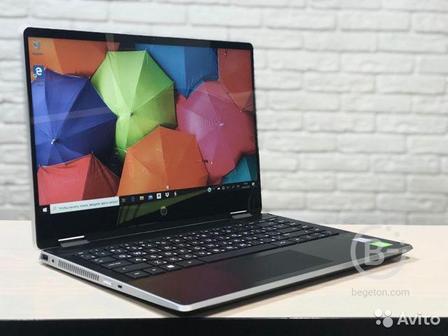 Сенсорный ультрабук HP i5 8265-Full Hd-SSD256