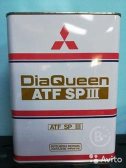 Трансмиссионное масло Mitsubishi Queen ATF spiii