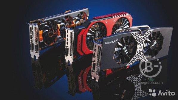 Игровые Видеокарты GT 630- GTX 1080 Ti C Гарантией