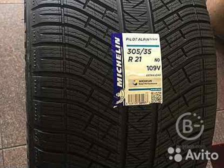Шины 275 40 21 и 305 35 21 Michelin Pilot Alpin4