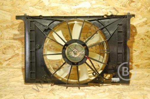 Диффузор радиатора в сборе Corolla 06-/Fielder 06- Sat (STTY292010, 167110D200)