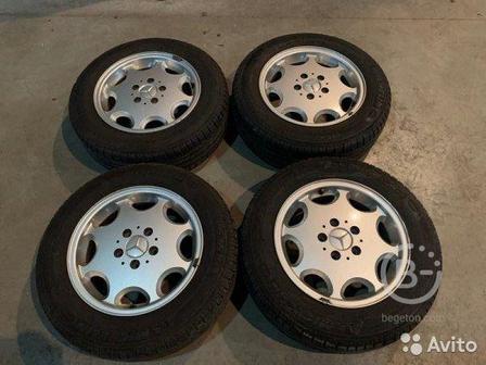 Комплект колес Mercedes W202 R15