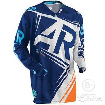 Джерси AR Alpha (Сине-оранжевый L)