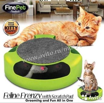 Когтеточка для кошек мышеловок