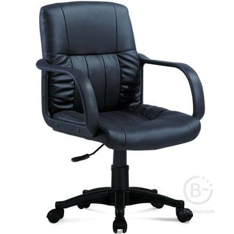 Кожаное кресло компьютерное Brabix