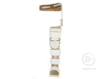 Аппарат на нижнюю конечность фиксирующий для детей с последствиями ДЦП