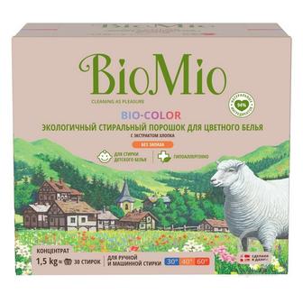 BioMio (Био Мио) Bio-Color Экологичный стиральный порошок для цветного белья, 1500 гр