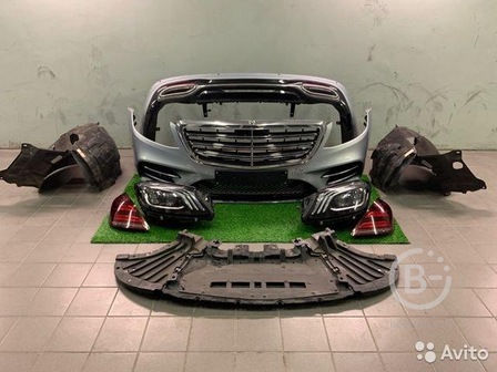 Рестайлинг обвес Mercedes-Benz S-Class W222