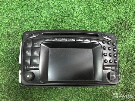 Блок comand головное устройство Mercedes-Benz
