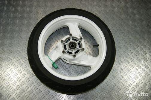 Диск колесный задний Kawasaki ZZR1100-1
