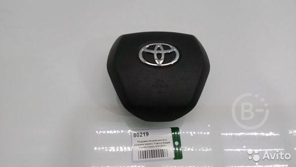 Подушка безопасности в руль Toyota Camry V70 17)