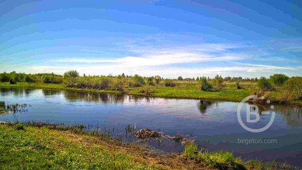 Участок 2 Га. на берегу реки, подъезд асфальт