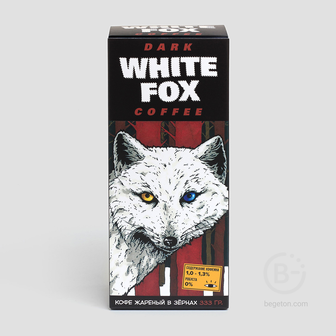 Кофе Dark Places White Fox (333 г)