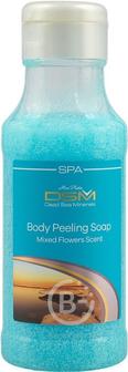 Mon Platin DSM - Мыло пилинг для тела Цветочный микс 400мл