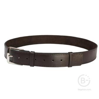 Ремень брючный кожаный HS-Р-11 №3 коричневый Helios HS-Р-11№3