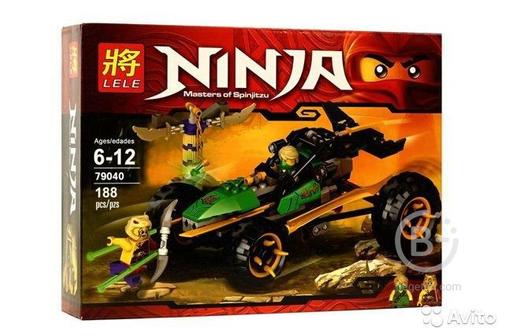 Lego Ninja Go (аналог) - Lele 79040, 188 деталей