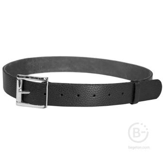 Ремень брючный кожаный HS-Р-7/1 №3 черный Helios HS-Р-7/1№3-1