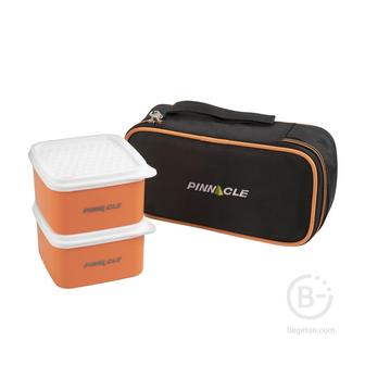 Набор Polaris из 2 пласт.ланч-боксов PP (2x0,25л)  + сумка N-PR-1910 PINNACLE