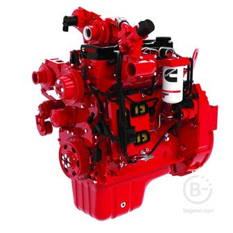 Двигатель Cummins QSB4.5-C160 первой комплектности.