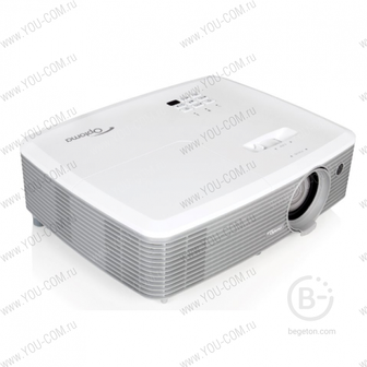 Проектор Optoma X400 (Full 3D) (95.78B01GC0E) ( 4:3, Яркий 4000 Lm, XGA (1024*768), для презентаций и конференций, мультимедиа, HDMI, VGA, Composite )