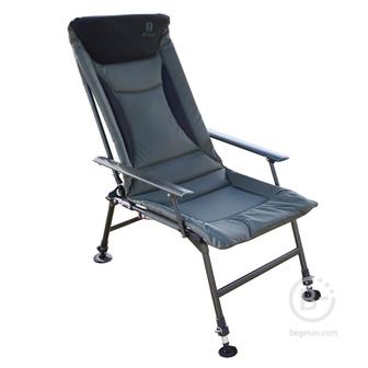 Кресла рыболовные Кемпинговое облегченное кресло BTrace Sturdy Alu, (алюминий), до 150 кг