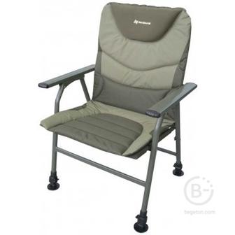 Кресла рыболовные Кресло карповое складное с подлокотниками Nisus N-BD620-084203