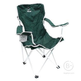 Кресла и стулья походные Стул складной со спинкой Greenell FC-6 зеленый