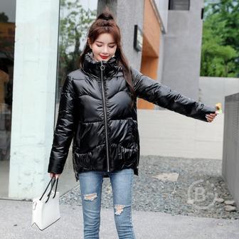 Новинка 2020 Зимняя куртка, высококачественное пальто с воротником-стойкой, модные женские куртки, зимняя теплая Женская одежда, повседневные парки
