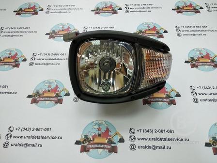 Фара основного освещения UDS-007 (CAT, Terex) Заднее крепление (Усиленная)