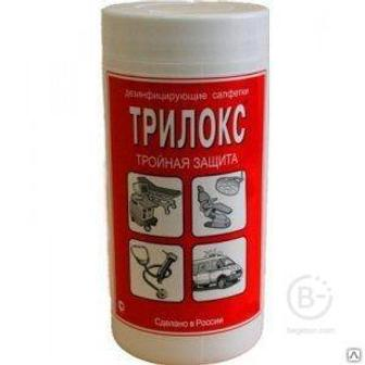 Трилокс салфетки банка №90